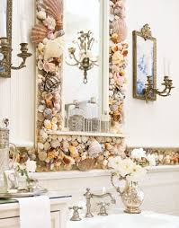 Seashell Mirror - Source: Country Living