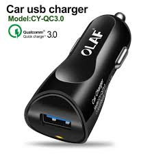 Generic <b>Car Charger</b> 3A <b>Quick</b> Charge 3.0 USB Charger,<b>OLAF</b> ...