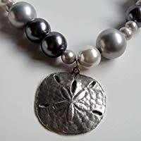 Dove Gray Natural Shell Pearl & Freshwater Pearl ... - Amazon.com