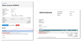 administrate control panel support invoices administrate show item on the invoice pdf