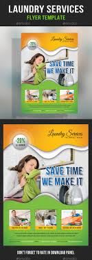 laundry services flyer template by rapidgraf graphicriver laundry services flyer template commerce flyers