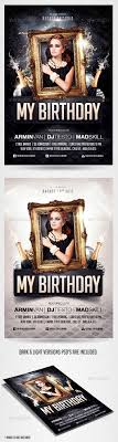 birthday party invitation flyer template by saltshaker birthday party invitation flyer template clubs parties events