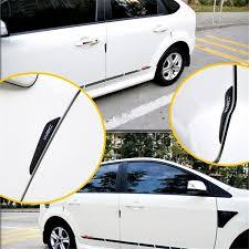 car accessories 1 set carbon fiber anti collision prevention bar tape door auto sticker car styling carbon fiber tape furniture