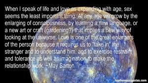 May Sarton quotes: top famous quotes and sayings from May Sarton via Relatably.com