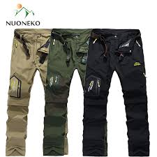 <b>NUONEKO</b> Quick Dry Removable <b>Hiking</b> Pants <b>Outdoor</b> 6XL Mens ...