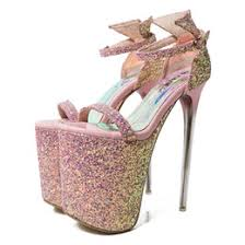 Pink Bling Sandals Canada