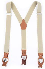 Multifunction <b>Mens Suspenders</b> Y-back 1.38 inch with <b>6</b> Buttons and ...