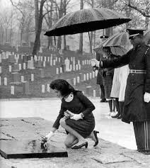 「solemn procession then continued on to Arlington National Cemetery,」の画像検索結果