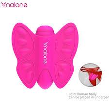 <b>Wireless</b> Remote Control Harness Strap on Panty Butterfly <b>Vibrator</b> ...