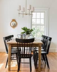 black dining room media image