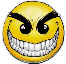 Image result for big mean smiley face