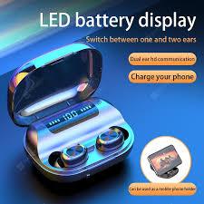 <b>263 Touch TWS</b> Binaural with LED Display Digital Display Bluetooth ...
