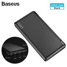 Shop <b>Baseus Mini Cu</b> 10000mAh dual USB output <b>power</b> bank for ...
