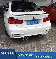 <b>For BMW F30 F35</b> Spoiler M4 E High Quality ABS Material Spoiler ...