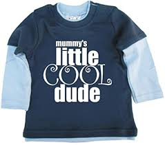Dirty Fingers, <b>Mummy's</b> Little Cool Dude, Baby <b>Skater</b> Top: Amazon ...