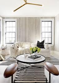 light filled modern living room
