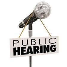 Image result for public hearing