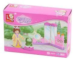 Розовая мечта. <b>Трюмо принцессы</b>. Сюжетный конструктор для ...