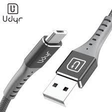 <b>Udyr</b> 3A USB Cable <b>Mobile</b> Phone Micro USB Type C Charger ...