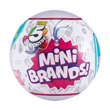 5 Surprise Mini <b>Brands</b> Mystery Capsule Collectible Toy by ZURU ...