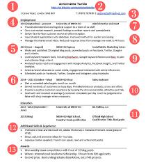 your graduate cv should look similar to this mesh ed graduate cv template