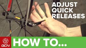 How To Use And Adjust <b>Quick Release</b> Skewers - YouTube