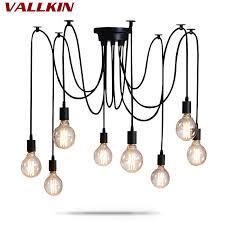 DIY Pendant lights <b>Modern Nordic</b> Retro Hanging Lamps Edison ...