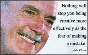 Nothing will stop you being creative more effectively as the fear ... via Relatably.com
