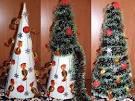 Новогодние ёлки своими руками из конфет фото