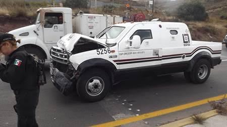 Choque Autopista Mex-Qro Huehuetoca