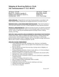 shipping and receiving manager resume sample s logistics resume
