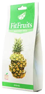<b>Чипсы FitFruits фруктовые</b> Ананас — купить по выгодной цене на ...