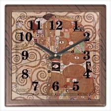 Часы квадратные из пластика (под дерево) <b>Свершение</b> (<b>Густав</b> ...