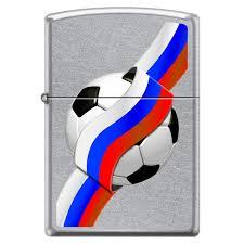 <b>Зажигалка Zippo 207 Russian Soccer</b> – купить в интернет ...