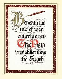 pen mightier than sword essay pen is mightier than sword essay essay topics pen is mightier than