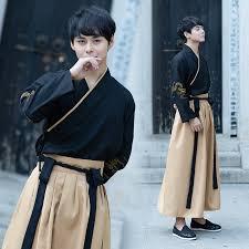 Ancient Chinese garment Male Hanfu film TV stage wear <b>national</b> ...