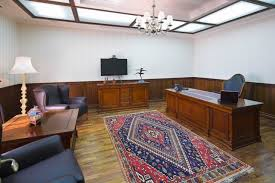 beautiful office with wooden furniture beautiful office designs