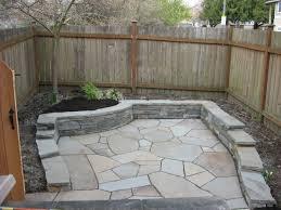stone patio installation: