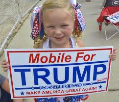 Image result for trump at alabama rally pics