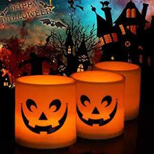 <b>Pumpkin skull</b> Candle Lights <b>Halloween Decoration</b> Lights Warm ...