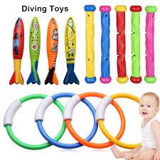 <b>13PCS</b>/Set <b>Kids</b> Baby Funny Toys <b>Diving</b> Rings Sticks Balls ...