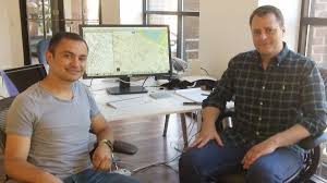 these plucky startup founders want to beat apple and google at yonis benitez and phillip zakas in parkour method s georgetown office