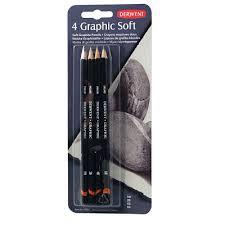 <b>Набор чернографитных карандашей Derwent</b> Graphic Soft (4 ...