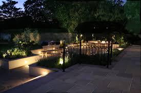 lighting in garden. at lighting in garden p