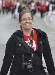 Reporterin Kim Jasmin Kraus führt den Schützenausmarsch in ... - 1658426_web