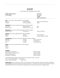 theatre resume template com theatre resume template to get ideas how to make awesome resume 6