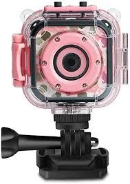 PROGRACE Children Kids Camera Waterproof Digital ... - Amazon.com