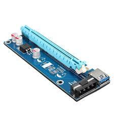 10X USB 3.0 PCI-E 1x to 16x Powered Extender Riser Adapter Card ...