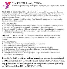 resume eeo specialist job search job resume and job coordinators multiple positions job in keene nh jobsinma