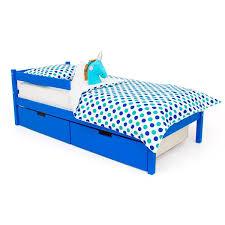 """<b>Детская кровать Бельмарко</b> """"<b>Skogen</b> classic синий"""""""
